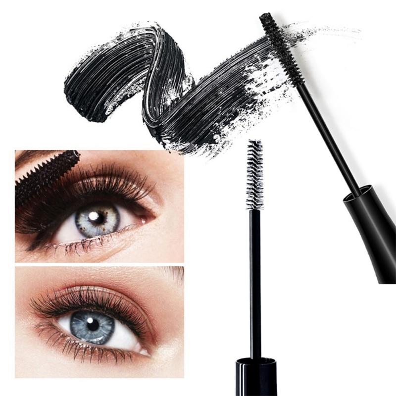 Fashion Black Slender Mascara Waterproof Easy Makeup Remover Long lasting Mascara Cosmetics Tools in Mascara from Beauty Health