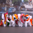 4pcs  Pony Toys for ...