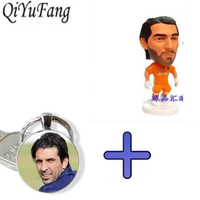 QiYuFang Gianluigi Buffon модель игрушки остроумие Combe брелок Италия футбол ювелирные изделия вентиляторы мужские для женщин ребенок подарок брат брелоки