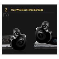 Twins Wireless Bluetooth V 4.1 Stereo Headset 2 in 1 Mini Bluetooth earphones True bluetooth Earbuds TWS stereo wireless earbuds