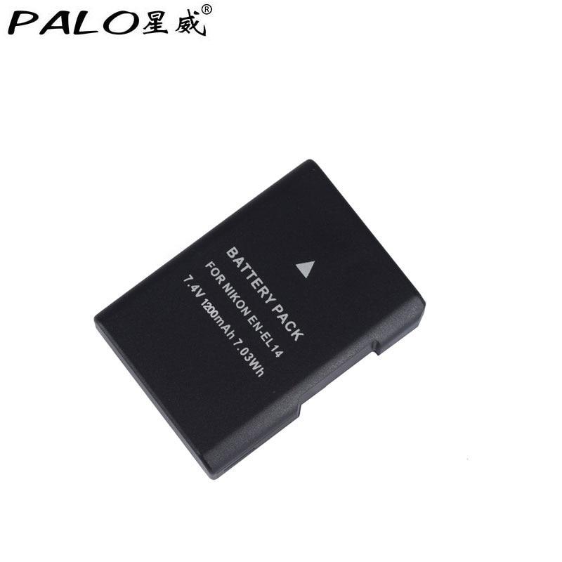 1pc. EN-EL14 ENEL14 EL14 1500 mAh EN-EL14a Batteria per Nikon D5600, P7700, P7100, D3400, D5500, D5300, D5200, D3200, D3300, D5100, D3100, Df.