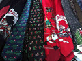 100 pcs Natal Pescoço Laços para Homens gravata do laço de presente Xmas party