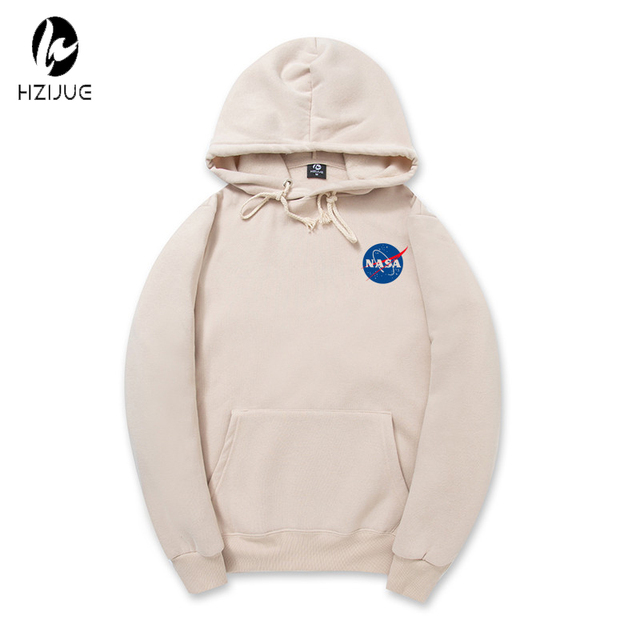 2017 Spring New Mens NASA Printed Thin Sweatshirts Men Hoodies Cool Designer Casual Fitness Clothing Hooded fleece hoody