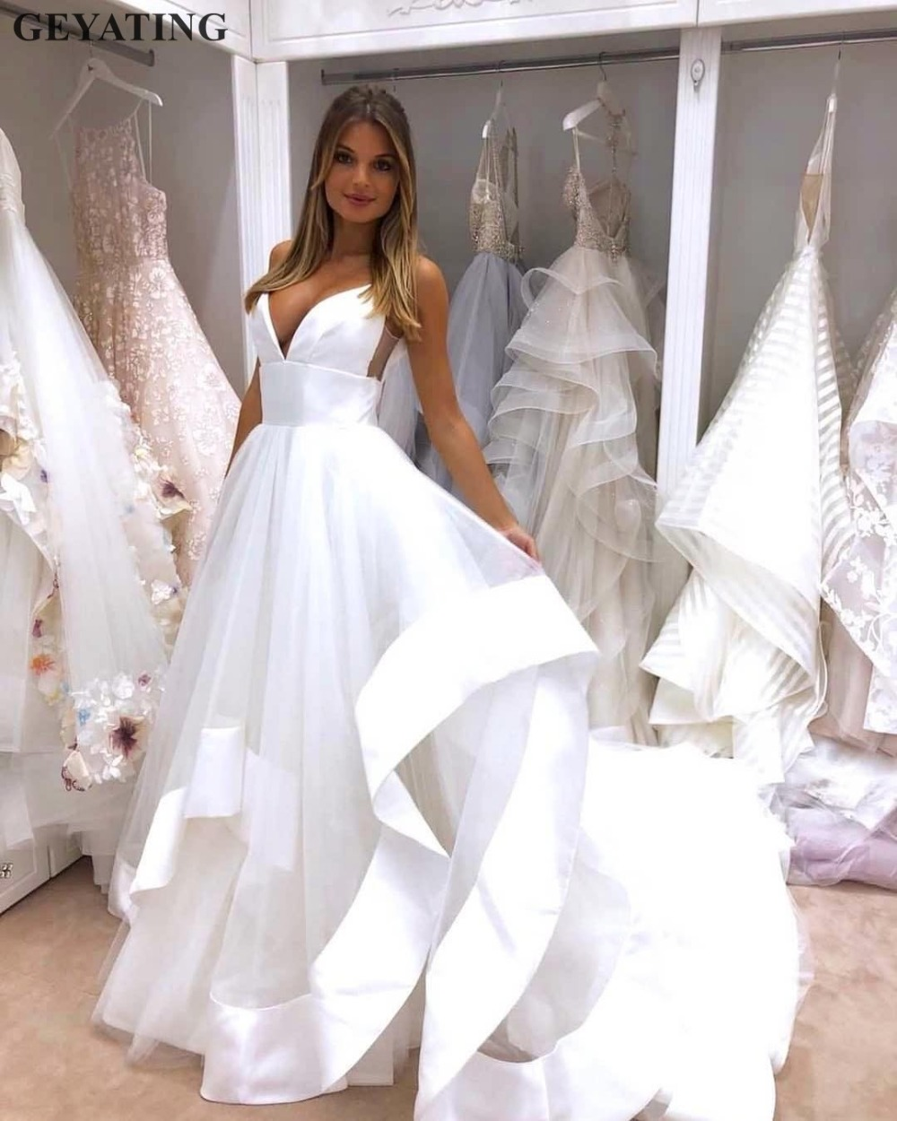 bb6f4612a39c7 top 10 cheap wedding dresses beach made in china ideas and get free ...