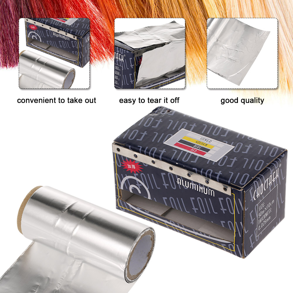 Aluminum Foil For Hair Perm Hair Styling Coloring Hair Salon Hair Styling Tools Hairdressing Supplies Barber Use Aluminum Foil