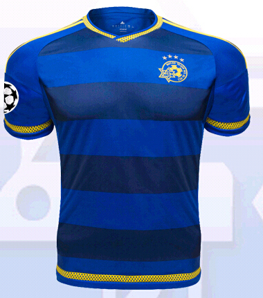 9db483a74 away A+++ Top Thialand 2015-2016 season Israel men Football Jersey Maccabi  tel aviv home Sports Football
