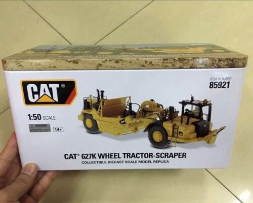 RARE Caterpillar Cat 627 K roue tracteur-grattoir 1/50 moulé sous pression maîtres DM #85921 - 3
