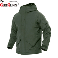 New 2 In 1 Outdoor Fishing Clothing for Men Autumn Winter Waterproof Warm Fishing Jackets Hooded Mountaineering Suits