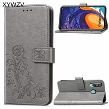 삼성 갤럭시 a60 케이스 럭셔리 pu 커버 소프트 실리콘 플립 지갑 전화 케이스 커버 삼성 갤럭시 a60 카드 홀더 fundas 들어