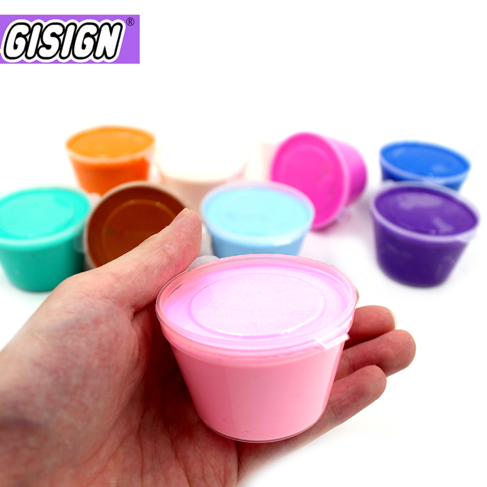 Soft Clay Light Gum Lizun Slime Air Dry Plasticine Fluffy Polymer Supplies Super Cotton Charms For Slime Kit Antistress Toys