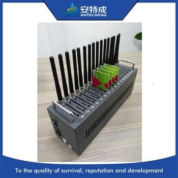 Antecheng New design  16 port Wavecom modem Q2403A stk modem  pool 16PORT ussd MODEM POOL