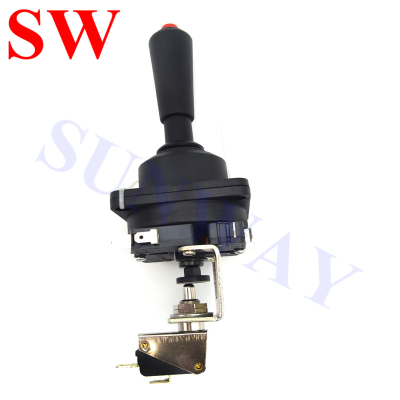 High Quality Arcade 4-8 Way Joystick With Start Push Buttons For Arcade Game Claw Skill Crane Machine