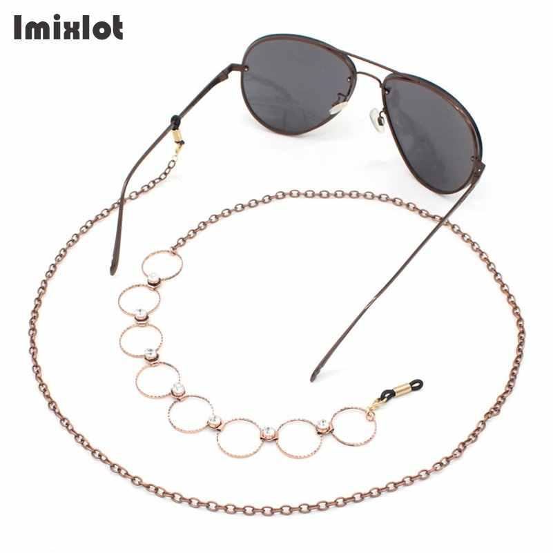 /Eyeglass Chain Copper Sunglasses Cord Neck Strap Holder Glasses Holder