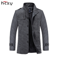 Autumn And Winter Fashion Mens Jackets And Coats Solid Color Simple Cotton Casual Jacket Male Outerwear