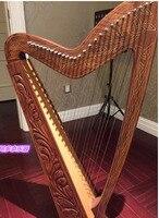BAIYUAN harp 27 string harp halftone rosewood harp Irish harp