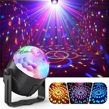 Посмотреть предложение диско DJ мяч Lumiere 3 Вт Звуковая активация лазерный проектор RGB сценическое освещение свет лампы музыка рождество KTV Вечерние