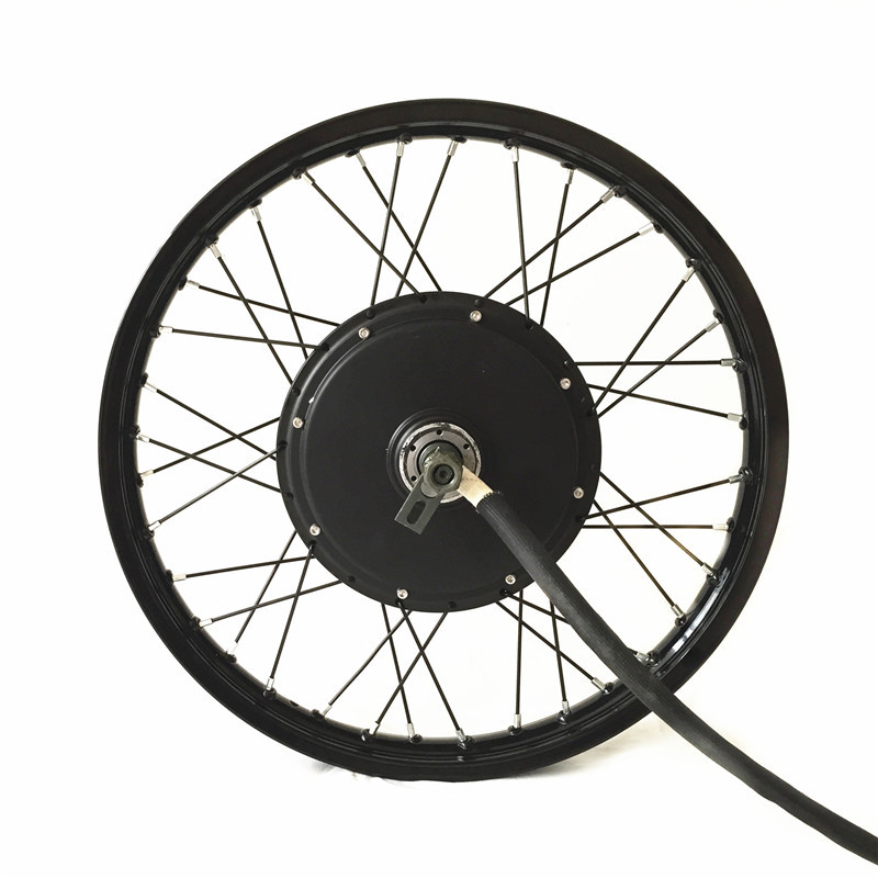 TFT Display 48v 72v 5000w electric bike kit 5kw e bike conversion kit with 16 17