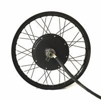 Superpower Ncyclebike 48v 72v 5000w E Bike Conversion Kit