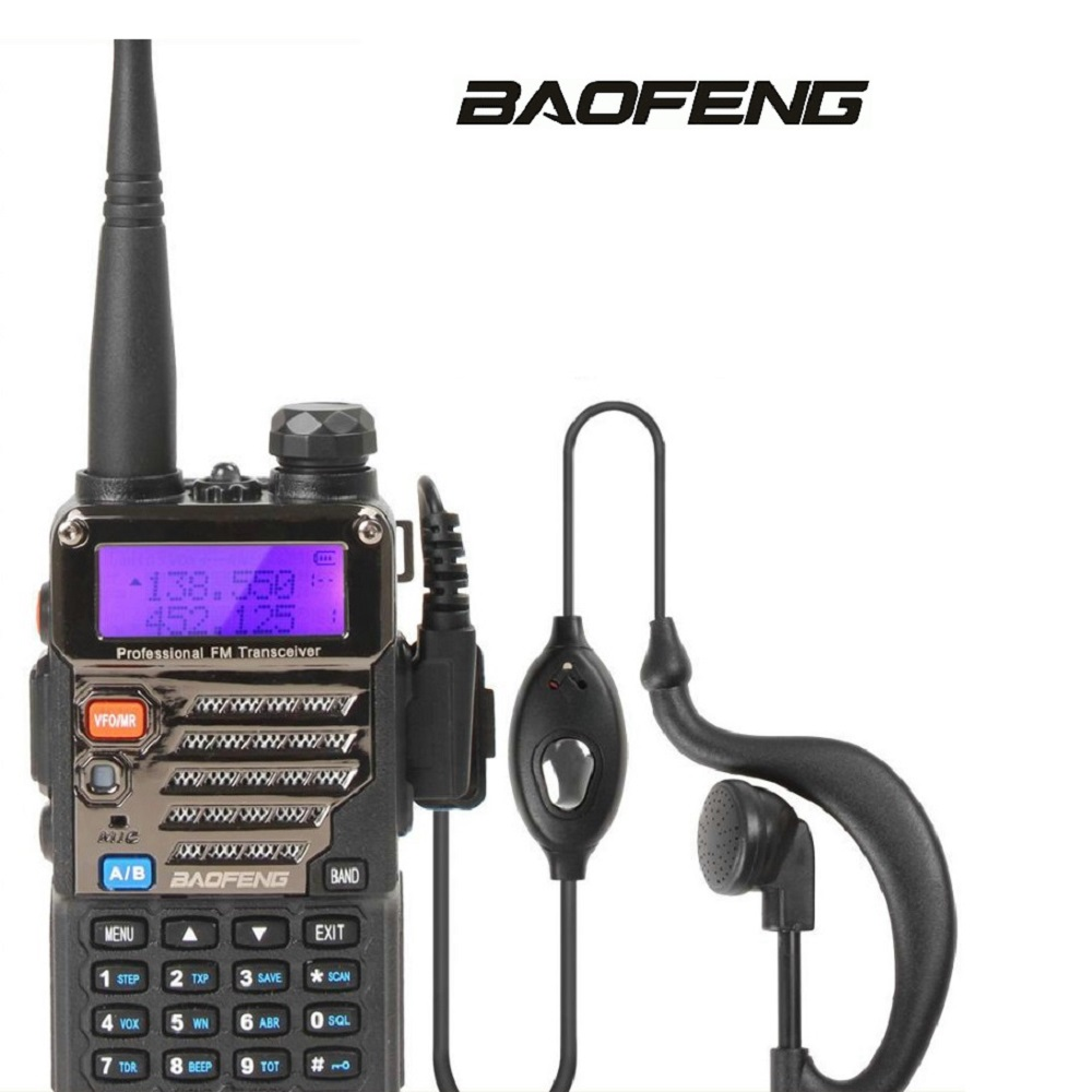 BAOFENG UV-5RE Two Way Radio Dual Band Dual Display Walkie Talkies 136-174MHz & <font><b>400</b></font>-520 <font><b>MHz</b></font> Handheld Interphone image