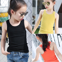 Hot 2017 New Explosion Of Children Children Are Pure Korean Girls Summer Tide Van Vest