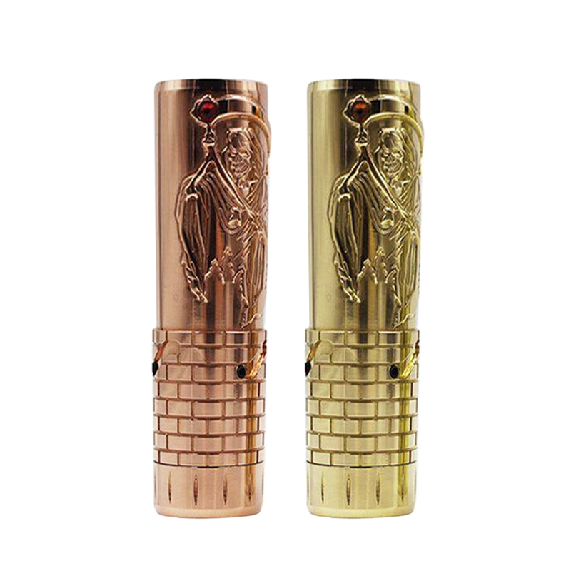 Authentique Marvec Hardess 18650/20700/21700 Mech Mod 26.5mm vape mods pour 24mm RTA réservoir/Rda atomiseur