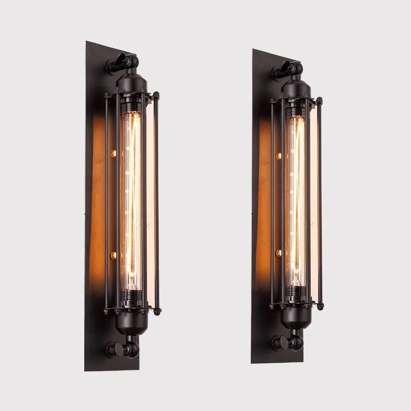 1 шт. Лофт Винтаж бра американской промышленных настенный светильник Edison свет 40 Вт E27 прикроватной тумбочке настенные светильники украшение...