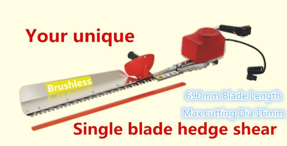 New Good Manufacturer Electric Single Blade Hedge Trimmer / Nůžky - Zahradní nářadí - Fotografie 2