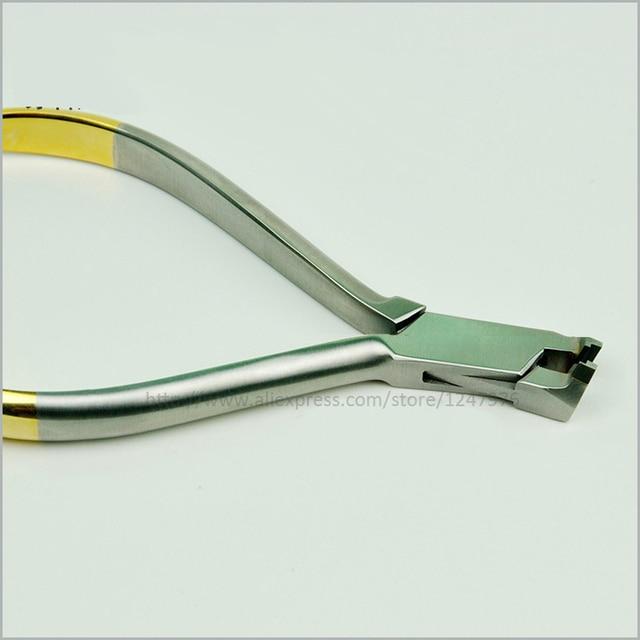 Pinzas de ortodoncia final alicates de corte cortador final alicates de corte final de ortodoncia dental alambre de níquel titanio alambre de acero inoxidable