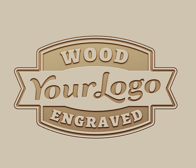 Su logotipo es bienvenido logotipo personalizado grabado en relojes de madera de bambú caja de madera Logo grabado láser OEM/ODM