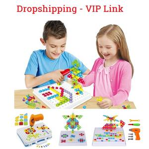 Toy Screws Learning-Toys Educational Kids DIY STEM Building-Kit Puzzle Pretend-Play-Tool