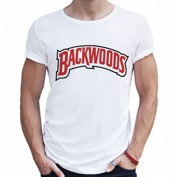 5259986953 High Quality Hip Hop Male T-shirts Backwoods Mens Fashion White T Shirt  Fitness Graphic Tees Men Streetwear Hipster Tshirts