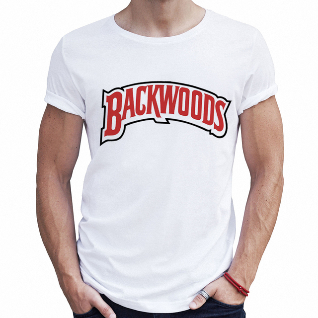 06abd4a99356 High Quality Hip Hop Male T-shirts Backwoods Mens Fashion White T Shirt  Fitness Graphic Tees Men Streetwear Hipster Tshirts