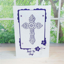 Lace Cross Craft Dies Scrapbooking Metal Cutting New for 2019 Die Cuts Card Making Paper Decor Album Embossing