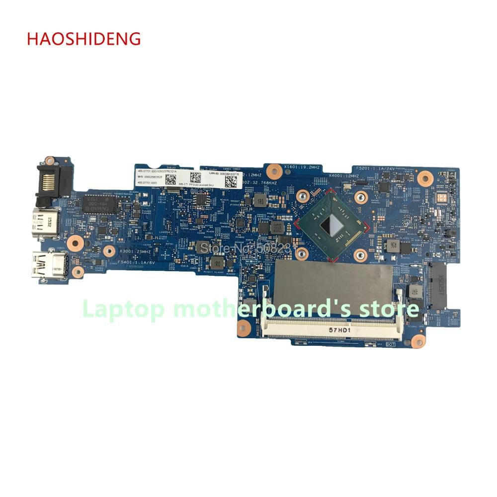 HAOSHIDENG 828895-601 mainboard for HP Pavilion 11-K x360 Convertible 11-k 11-K128CA motherboard with PentN3700 fully Tested
