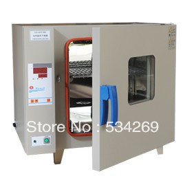 5 C to 300 C Electric Heating Blast Drying Oven with Stainless Steel Liner and Digital Display kh 101 0s pointer stainless inner drying oven constant temperature blast drier industrial drying cabinet instrument baking box