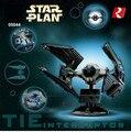 Hot Lepin 05044 New Star War Series Limited Edition The TIE Interceptor 703pcs Building Blocks Bricks Model Toys Con 7181