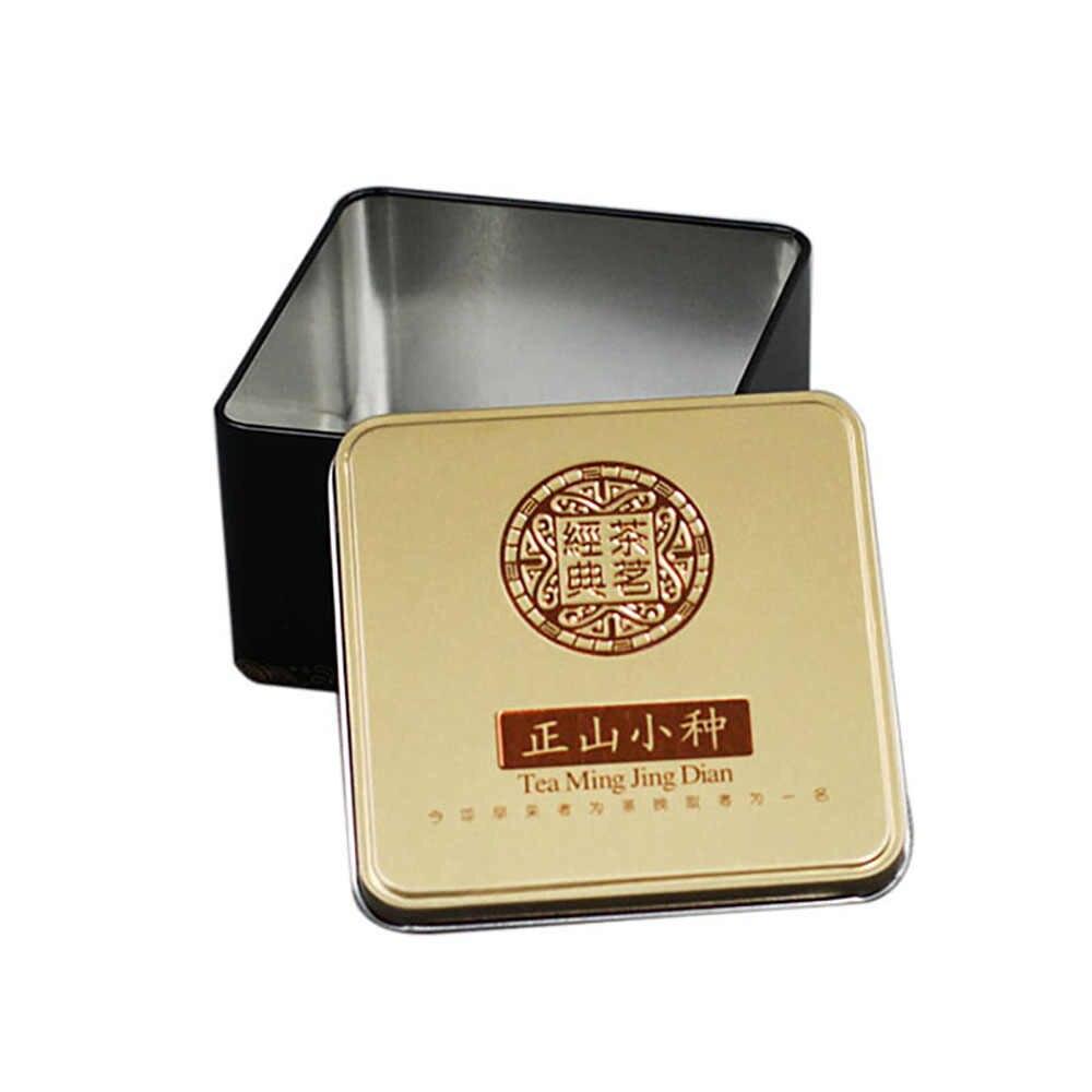 Xin Jia Yi opakowanie metalowe małe kwadratowe pudełka z aluminium cyny małe dostosowane metalowe wielokolorowe puszki do herbaty pudełka