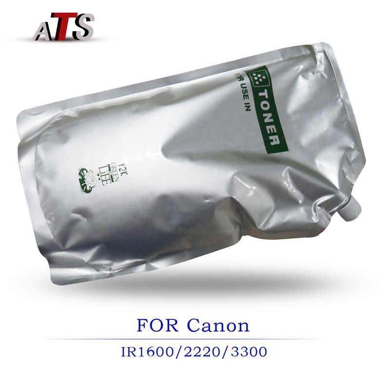 1KG Black Photocopier Fitting Toner Powder For Canon IR1600 IR2016 IR2200 IR2220 IR3300 Copier Spare Parts Photocopy TONER