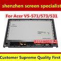 Laptop replacement touch digitizer Screen B156XTN03.1 For Acer Aspire V5-531 V5-531P V5-573 V5-571 V5-571P V5-571PG lcd assembly