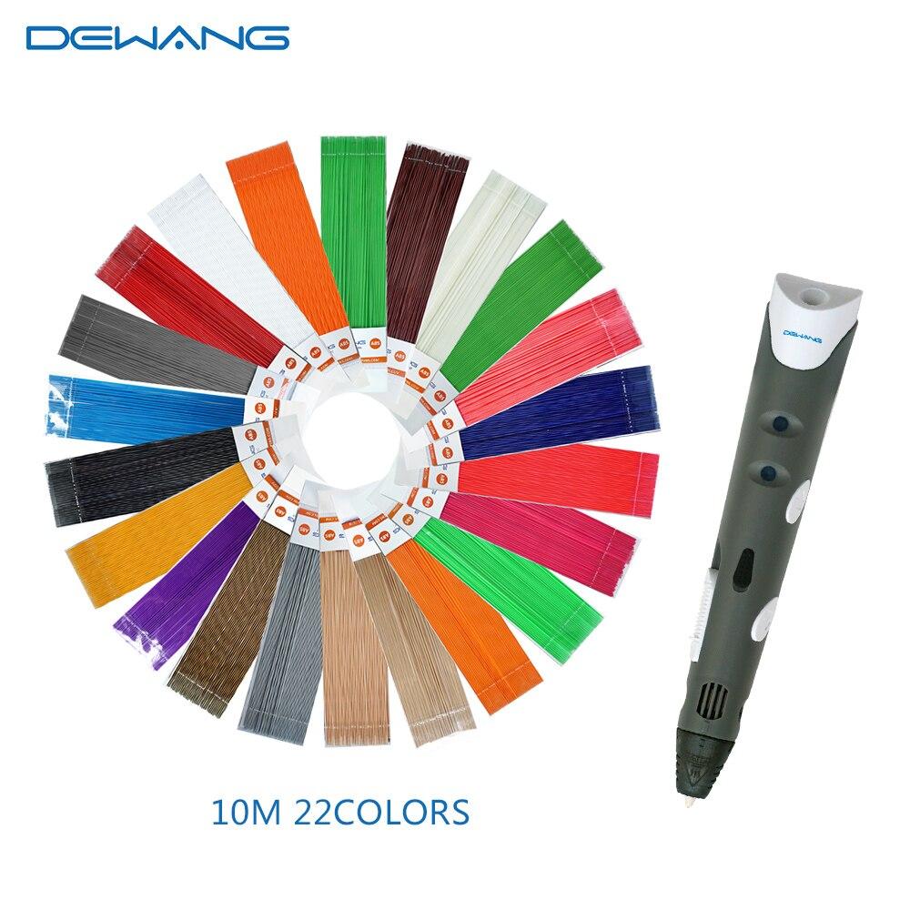 DEWANG писанка ручка 3D ручки 220M PLA нитка 3D - Офісна електроніка - фото 4