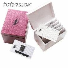 Коробка для хранения ресниц 5/10 слоев акриловый поддон держатель ресницы Индивидуальный объем ресниц Дисплей Стенд для наращивания ресниц инструмент