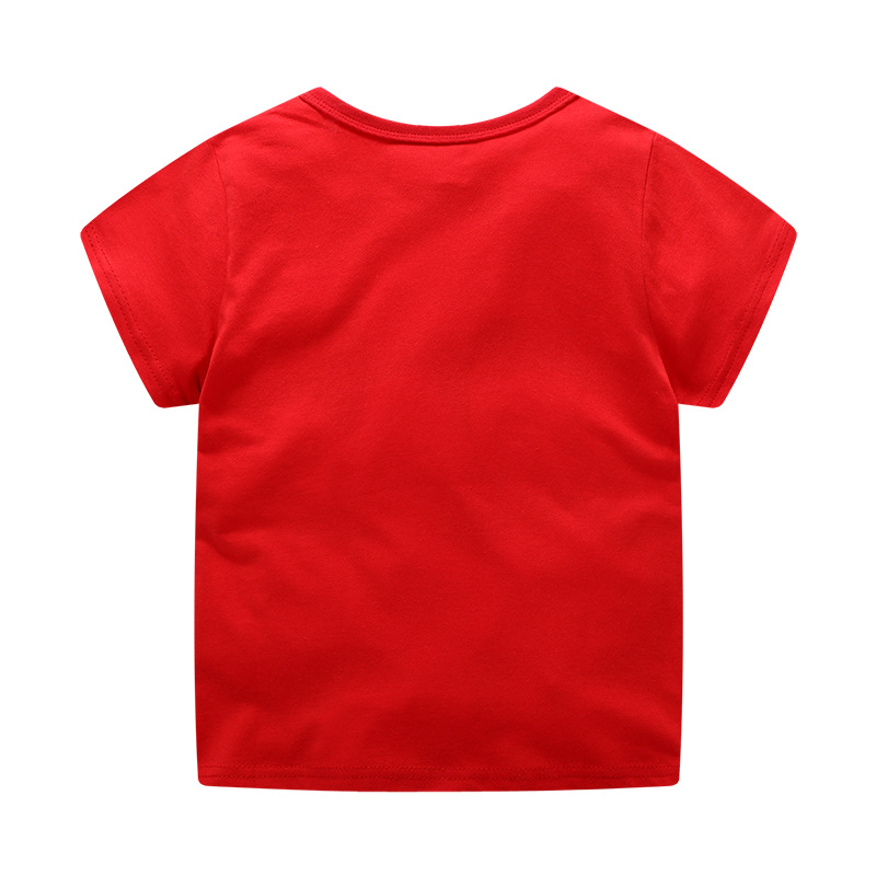 meninos t camisa nova verão do bebê