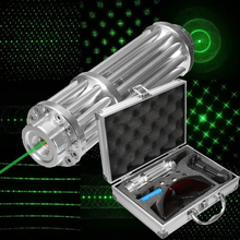 Burning Tactical Lazer Green Laser Pointer Powerful Military Sight 5000m Focusable lazer pen Burn Match