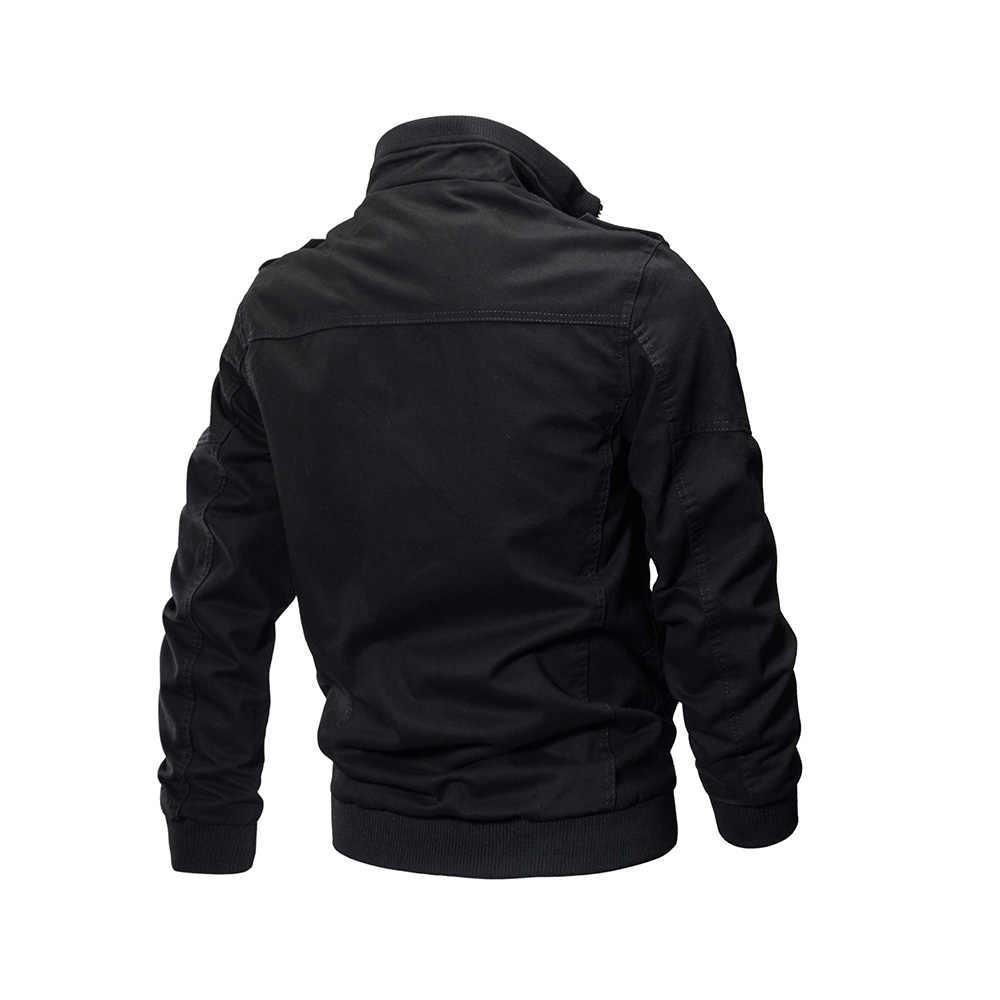 2018 Демисезонный Однотонная повседневная обувь Для мужчин куртки пальто с длинным рукавом и отложным воротником плюс Размеры M-5XL тонкий Горячее предложение Для мужчин куртка