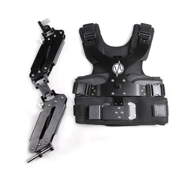 8-10kg Video Camera Support Steadicam Steadycam Vest Arm Double Handle for DSLR DJI Ronin 3 Axis Handheld Gimbal Stabilizer selens pro handheld support steadycam steadicam camera video handy stabilizer with carrying bag