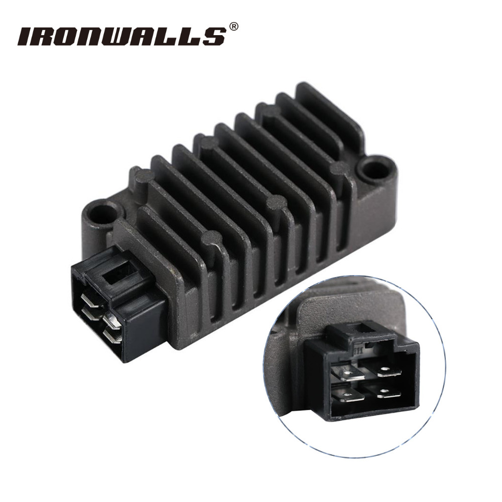 Ironwalls Motorcycle Regulator Rectifier Voltage 12V For Yamaha FZR 600R 400 TW200 Trailway TDM850 TT 225 250 XT XV250 Route 66