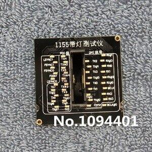 Image 2 - 1pcs * ใหม่ LGA1155 LGA 1155 CPU Socket Tester Dummy โหลดปลอมโหลดพร้อมไฟ LED