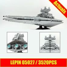 LEPIN 05027 3250Pcs Star Series War The Star Set Destroyer Model Building Kit Blocks Bricks Compatible