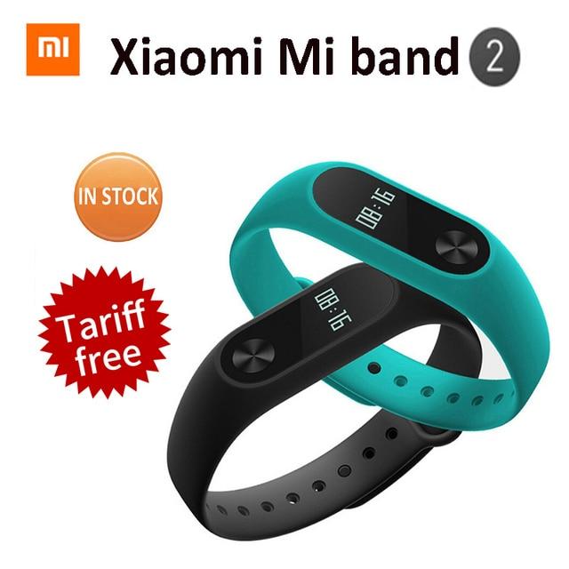 Original Xiaomi Mi Band 2 Xiomi Miband2 Pulse Smart Band Bracelet Waterproof Smartband Heart Rate Monitor Miband 2 Wristbands