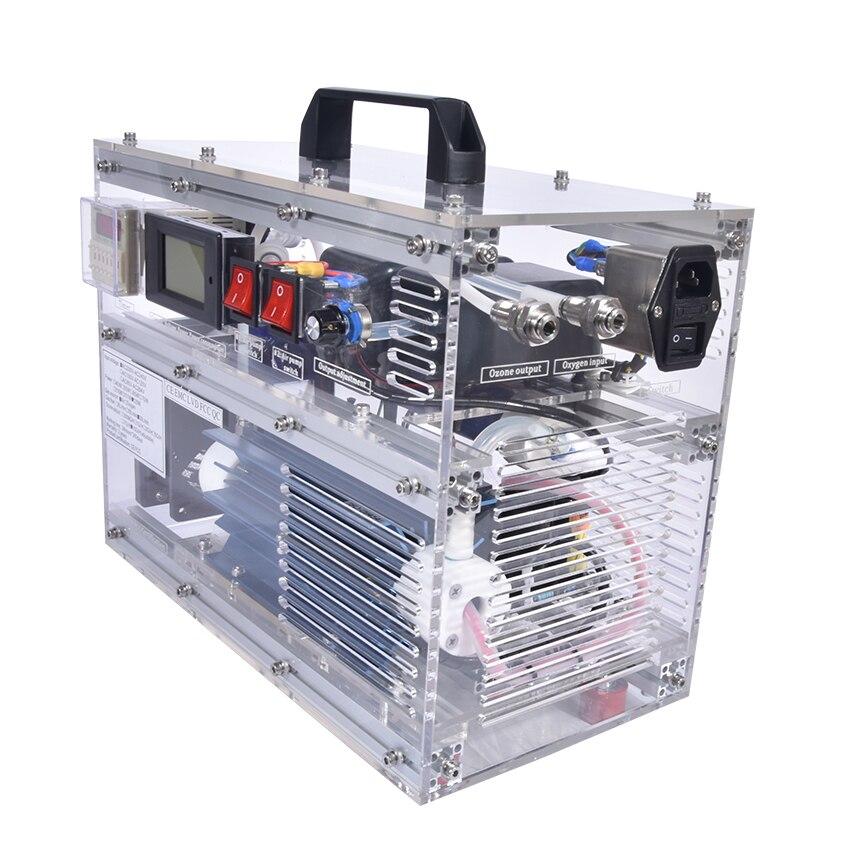 BO-1030QY Ozon Generator 0-10 gr/std 10 gramm Generatore Di Ozono Regolabile 10g Ozono Terapia Maschine 30 L /min AC220V/AC110V